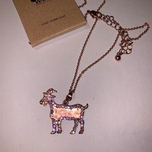 Jewelry - Farm Necklace Kids Goat Tying Rodeo Cowgirl
